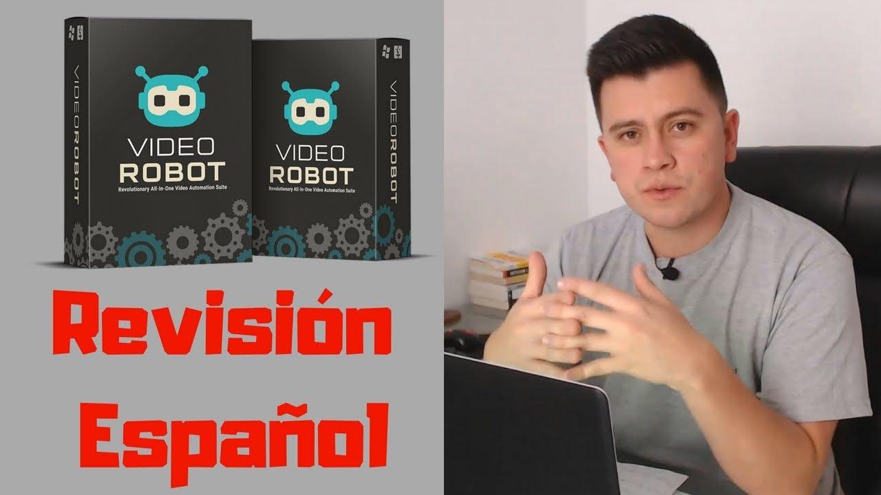 Como Ganar Dinero En ClickBank y Hotmart Con Video Robot (Video Marketing)