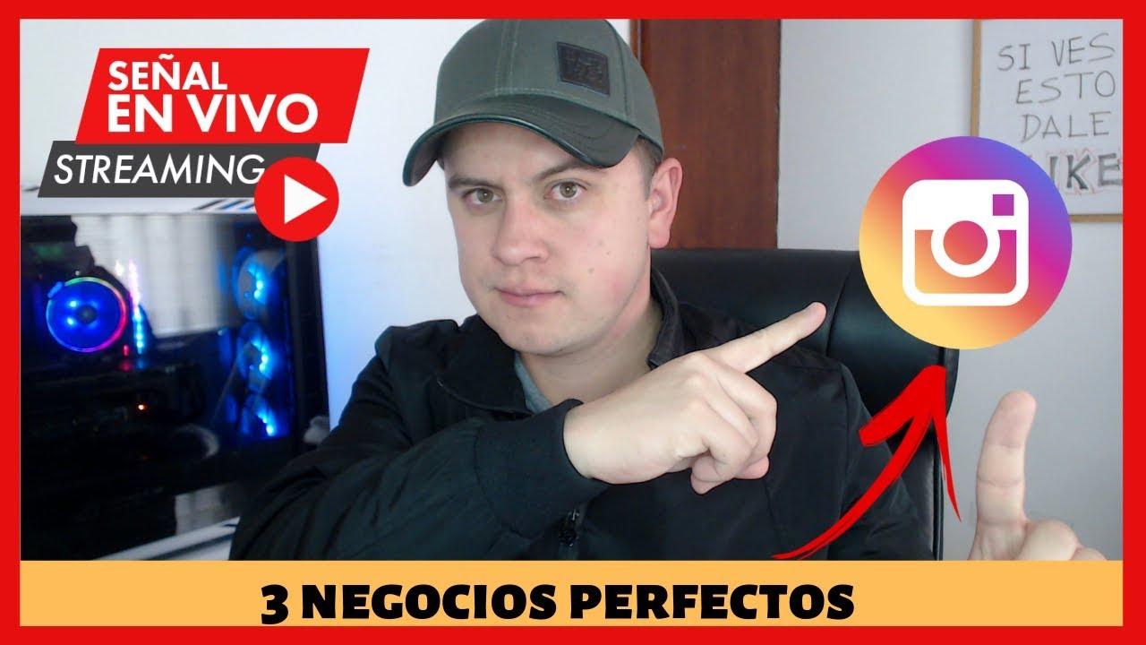 🔴 3 Negocios Perfectos Para Ganar Dinero Con INSTAGRAM 2019 | Francisco Bustos